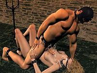 fucked in bondage 3d