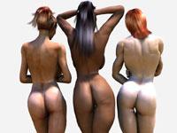 milf 3d asses