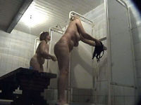 two moms shower themselves in front of voyeur cam