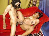 Black Pregnant Poon