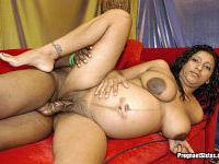 Pregnant Ebony Amateur