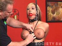 Sasha Sparks big tits torture