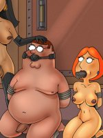 Enslaved Family Guy - Family Guy and his wifey dominated by Thai masseurs