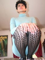 patterned pantyhose of desi girl