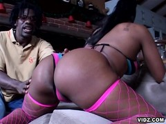 Black nasty slut has touch of sinful fallen angel