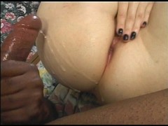 Sexy bitch show off gaping asshole