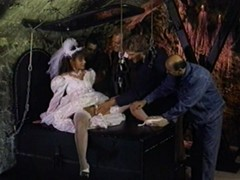 Newly wed bride gangbanged in BDSM way