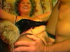 Hot granny wants all her holes cock-filled