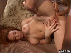 Horny bitch is proud with her cock starved cunt