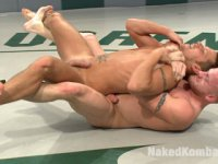 Shane Frost wrestles and fucks muscle stud Luke Riley