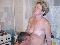 granny Rowena strips off a young man