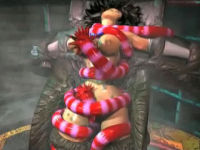 girl smothered by tentacles