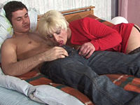 mature blonde fucked in a hotel