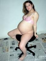 naked pregnant