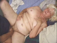 fat blonde granny fuck